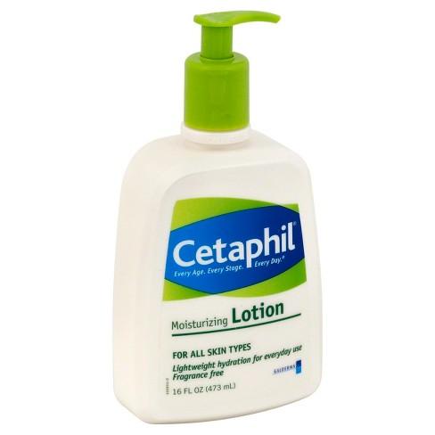 unscented cetaphil moisturizing lotion 16oz target