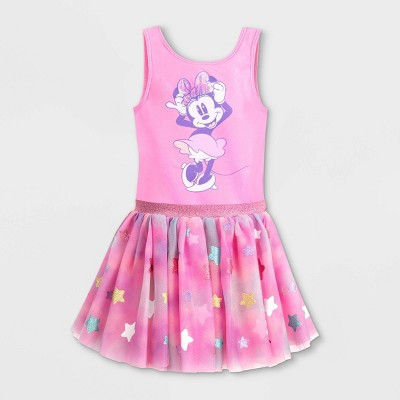 Girls' Disney Minnie Mouse Tutu Dress - Pink - Disney Store