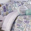 Twin Cityscape 2pc Comforter Set - Spree By Waverly - image 2 of 3