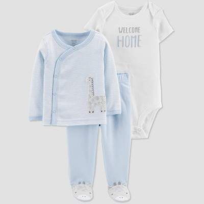 Baby Boys' Layette sets - Just One You® made by carter's Light Blue 6M