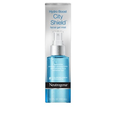 Facial Moisturizer: Neutrogena Hydro Boost City Shield Facial Mist Gel