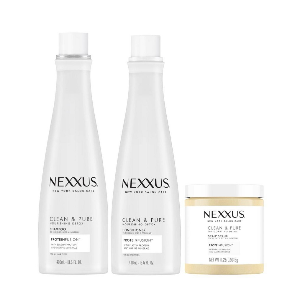 Image of Nexxus Clean & Pure Regimen Shampoo & Conditioner Bundle