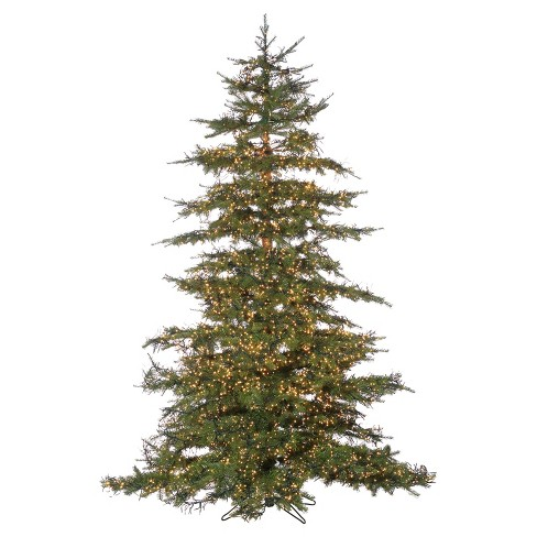 About this item - 7.5ft Pre-Lit Artificial Christmas Tree Full Monaco : Target
