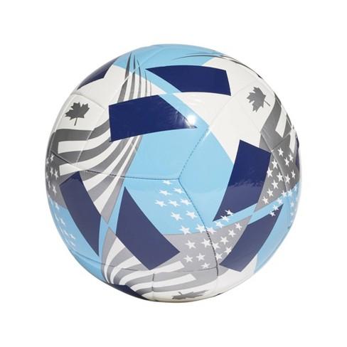 Adidas MLS Club Sports Ball - White/Cyan - image 1 of 4