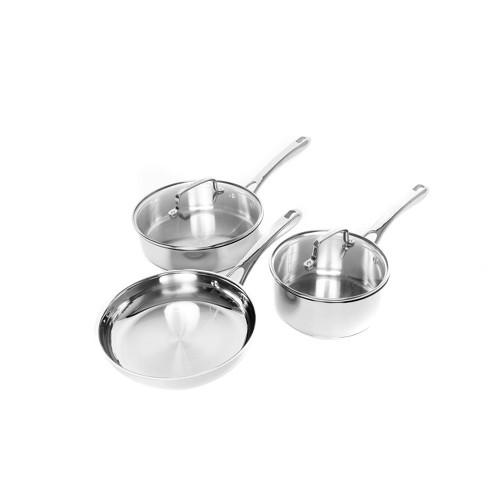 Cuisinart 5pc Stainless Steel Essentials Cookware Set
