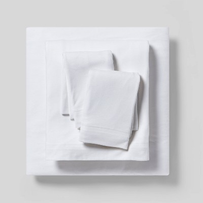 Cozy Brushed Solid Jersey Sheet Set - Threshold™