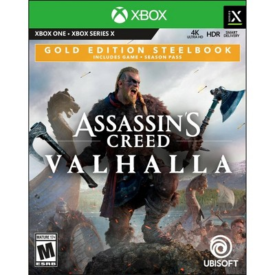 Assassin's Creed: Valhalla Gold Edition Steelbook - Xbox One