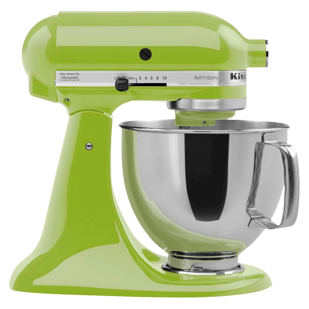 KitchenAid Artisan Series 5 Quart Tilt-Head Stand Mixer- Ksm150, Green Apple 10278397