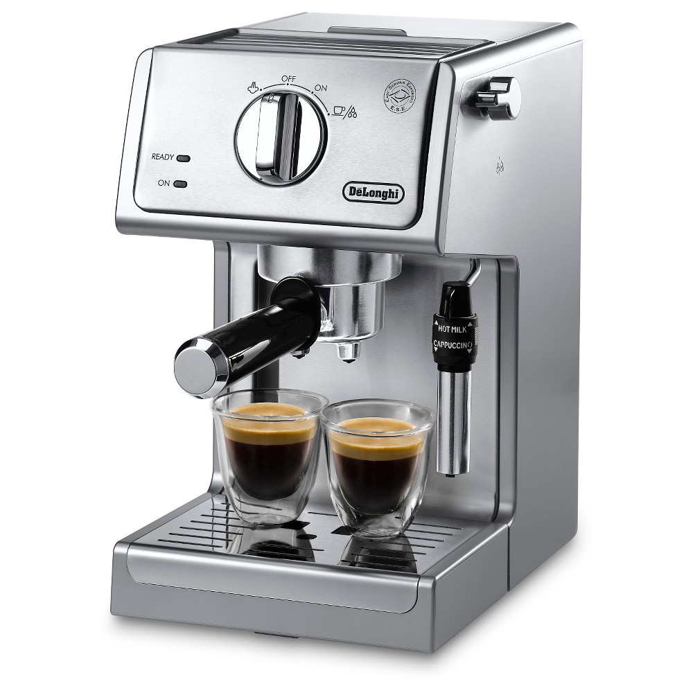 Delonghi 15 Bar Pump Espresso and Cappuccino Maker – 3630, Silver 51200646