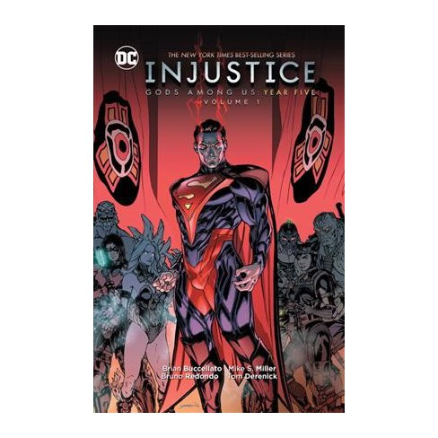 Injustice Gods Among Us Year Five 1 Hardcover Brian Buccellato