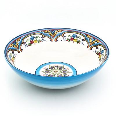 120oz Ceramic Zanzibar Serving Bowl - Euro Ceramica