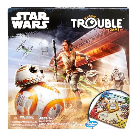 Trouble Game: Star Wars Edition - image 1 of 4
