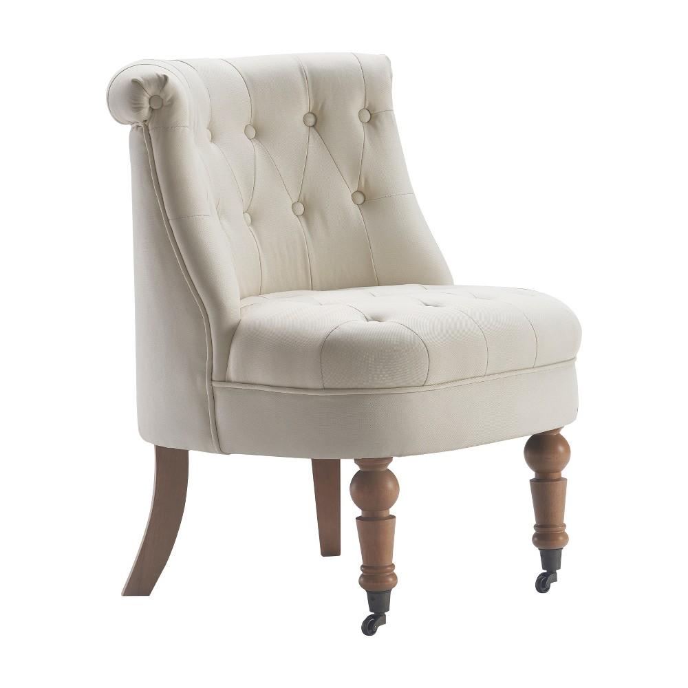 Elmhurst Tufted Accent Chair Vintage Cream - Finch Cheap