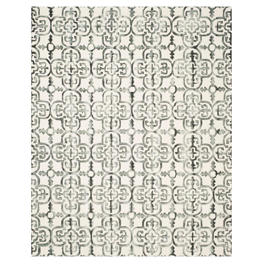 Bardaric Area Rug - Ivory / Charcoal (8' X 10') - Safavieh, Ivory/Grey