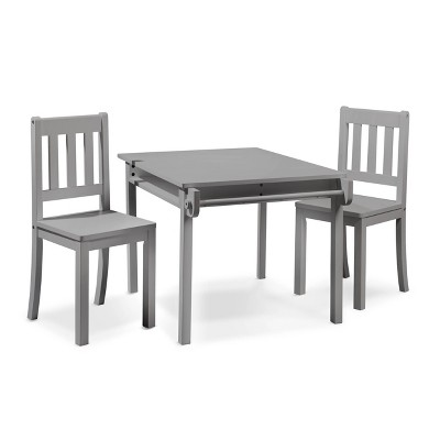 Sorelle Imagination Table & Chair Set Gray