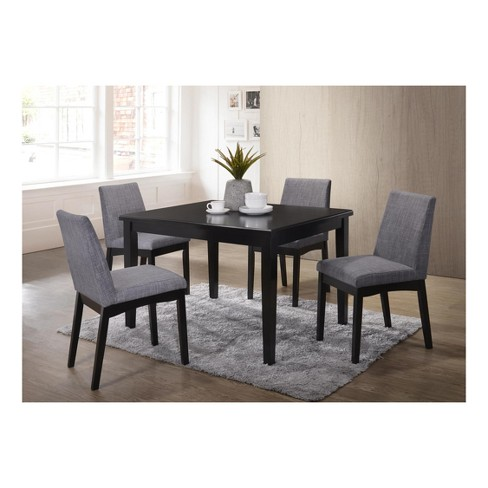 Mattie 5pc Dining Set - Brown/Gray - Home Source Industries - image 1 of 4