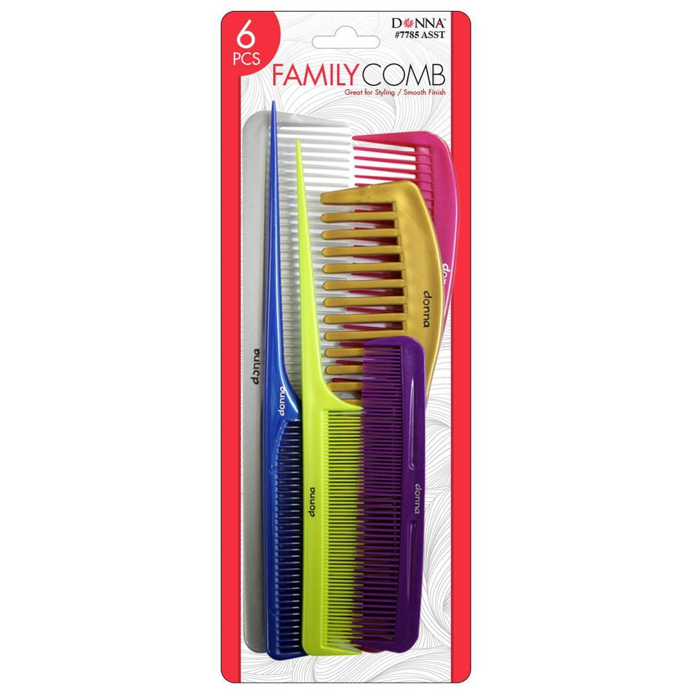 Image of Donna Family Comb Assortment - 6ct