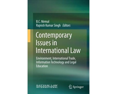 Contemporary Issues in International Law : Environment, International Trade, Information Technology and - image 1 of 1