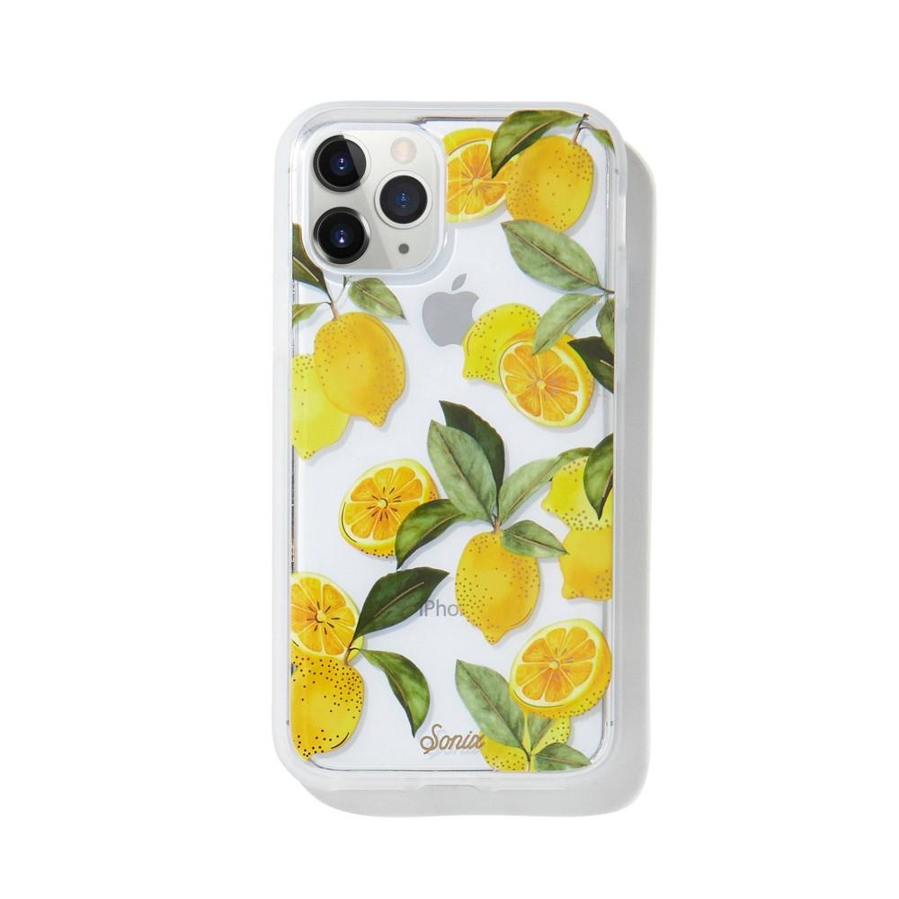 Sonix Apple Iphone 11 Pro X Xs Clear Coat Case Lemon Zest