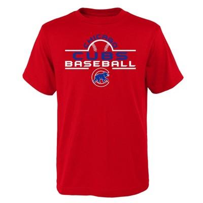 MLB Chicago Cubs Boys' Core T-Shirt