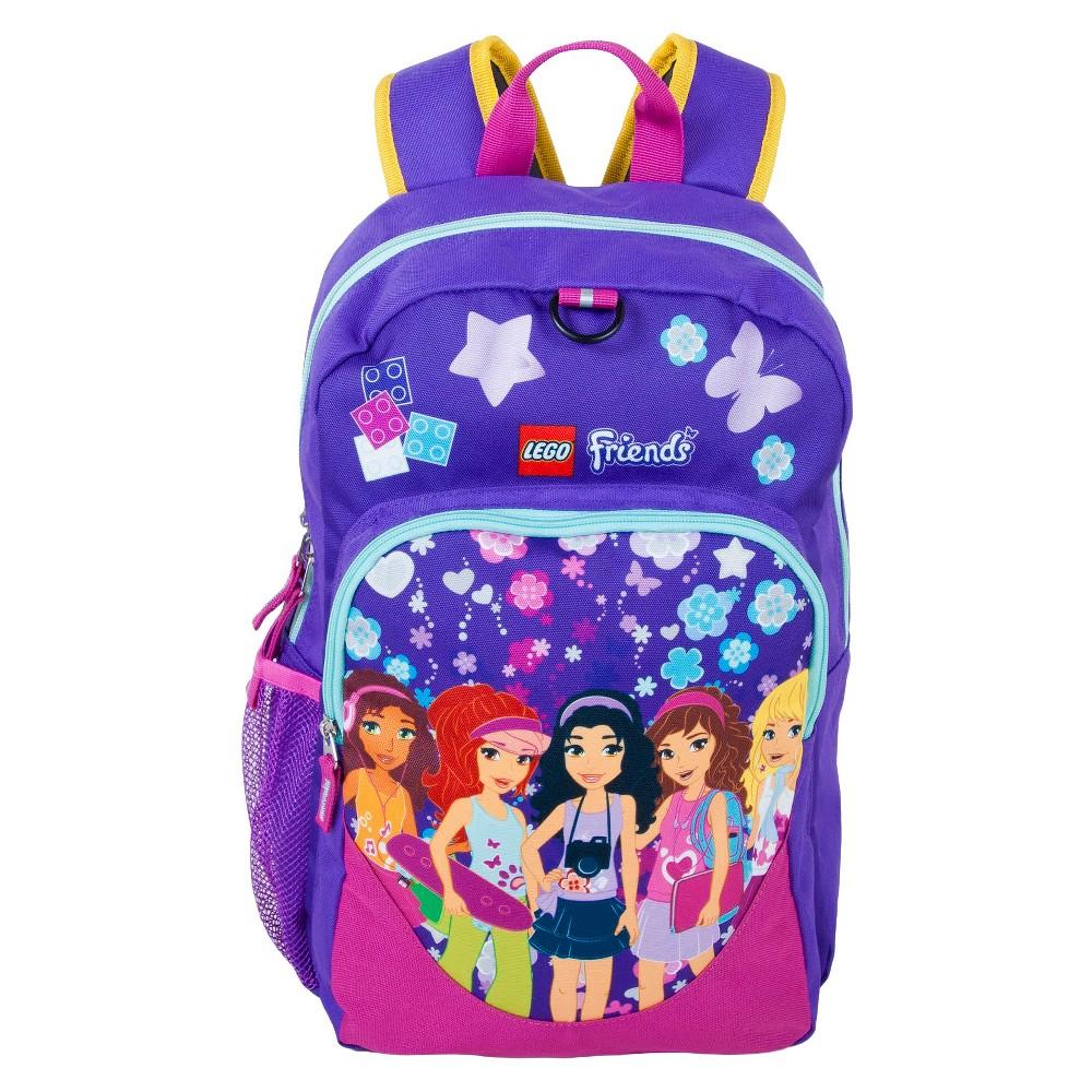 Lego Friends Kaleidoscope Heritage Classic Backpack, Purple