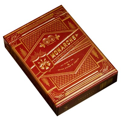 Red Monarch Playing Cards