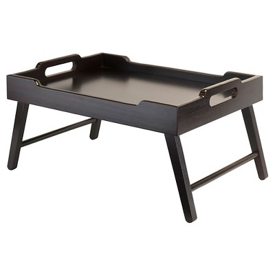 Winsome Kira Breakfast Tray in Espresso Finish
