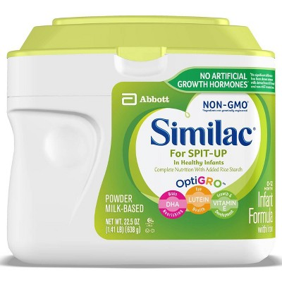 Similac for Spit Up Non-GMO Infant Formula with Iron Powder - 22.5oz