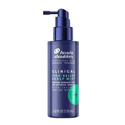 Head & Shoulders Clinical Strength Anti-Dandruff Intensive Itch Relief Mist with Cooling Leave-In Formula - 4.2oz