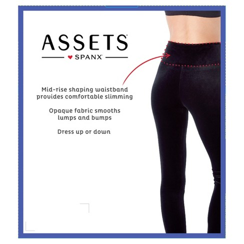 44c4621142c013 Assets By Spanx Women's Velvet Leggings - Black : Target