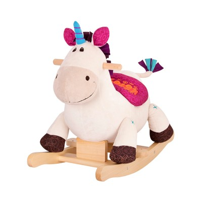 B. toys Wooden Rocking Unicorn Rodeo Rockers - Dilly-Dally
