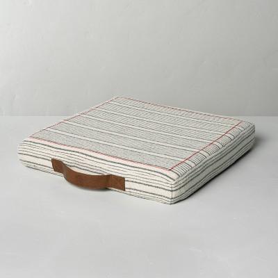 Multistripe Stadium Seat Cushion - Hearth & Hand™ with Magnolia