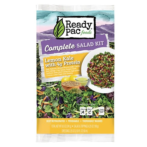 Ready Pac Lemon Kale with Protein Salad Kit - 8.5oz - image 1 of 1