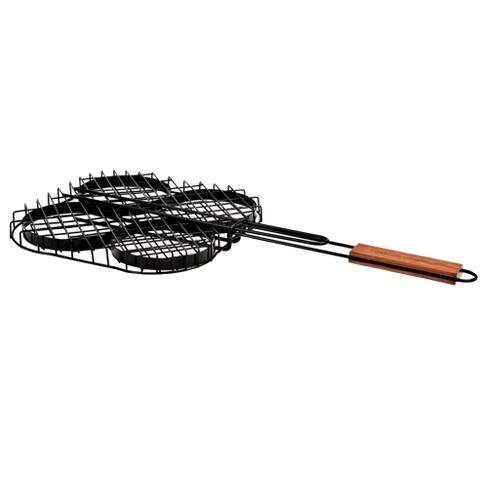 Charcoal Companion® Non-Stick Hamburger Grilling Basket - image 1 of 3