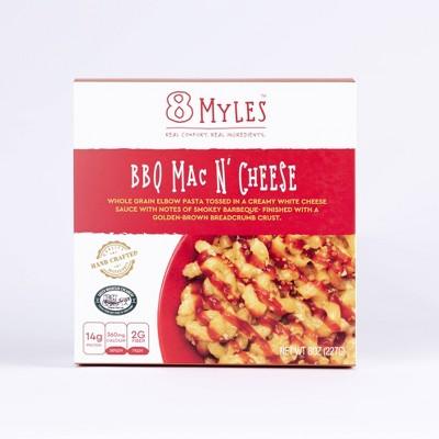 8 Myles Vegetarian Frozen BBQ Mac and Cheese - 8oz