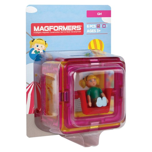 Magformers Figure Plus Girl Set - 6pc - image 1 of 8