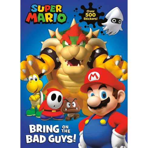 Nintendo Super Mario: Bring on the Bad Guys! - by  Courtney Carbone (Paperback) - image 1 of 1