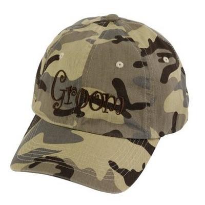 """""""Bride & Groom"""" Desert Camouflage Cap"""
