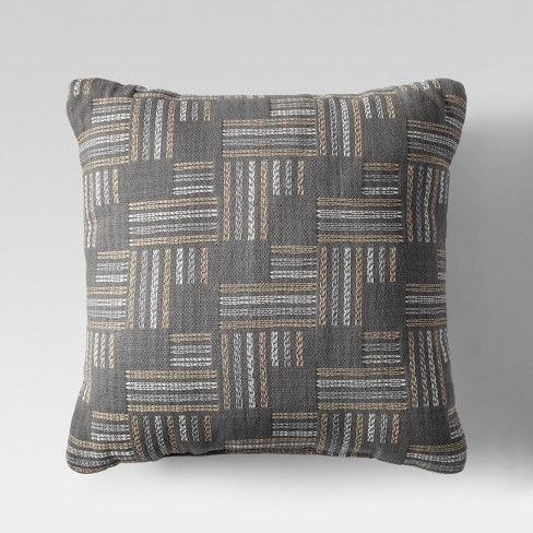 "Modern Throw Pillow (18"") - Gray - Project 62™ - image 1 of 1"