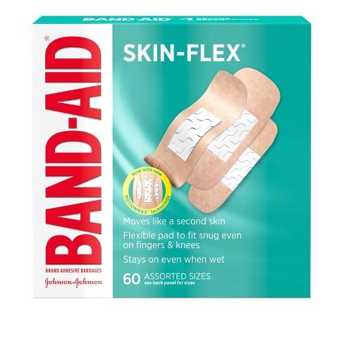 Band-Aid Skin-Flex Assorted Sizes Adhesive Bandages - 60ct - image 1 of 4