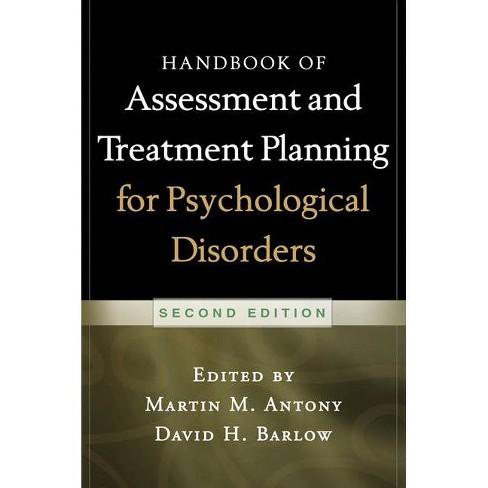 Handbook of Assessment and Treatment Planning for Psychological Disorders, 2/E - 2 Edition (Paperback) - image 1 of 1