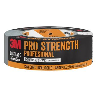 "3M Company 1.88"" x 60 yd Pro Strength Duct Industrial Tape Gray"