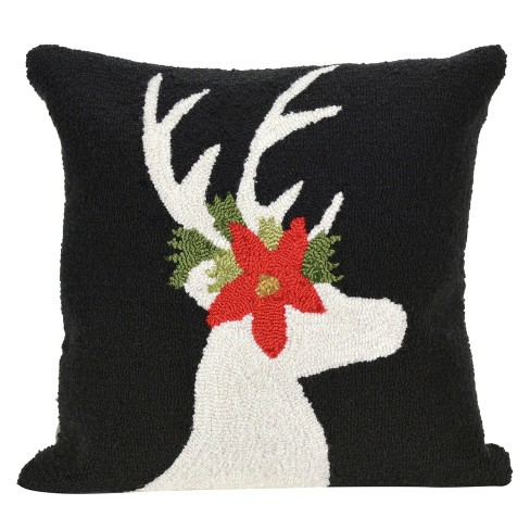 Black Throw Pillow - Liora Manne - image 1 of 1