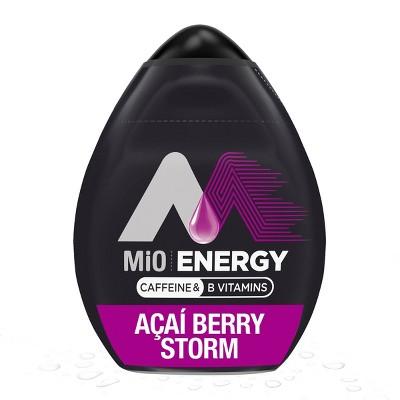 MiO Energy Acai Berry Storm Liquid Water Enhancer - 1.62 fl oz Bottle