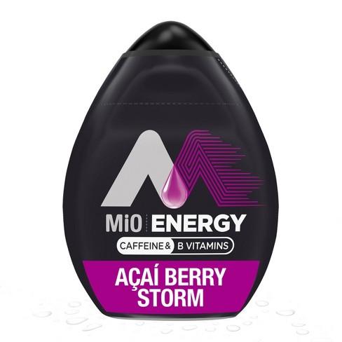 MiO Energy Acai Berry Storm Liquid Water Enhancer - 1.62 fl oz Bottle - image 1 of 4