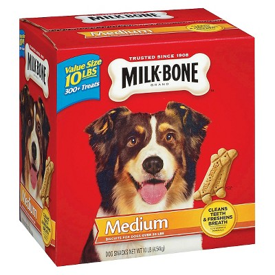 Dog Treats: Milk-Bone Original Biscuits Medium