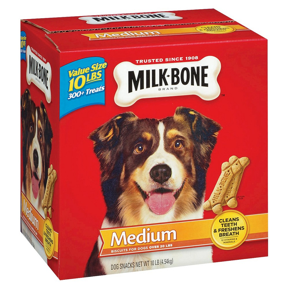 Milk-Bone Biscuits Medium 160oz (10 lbs)
