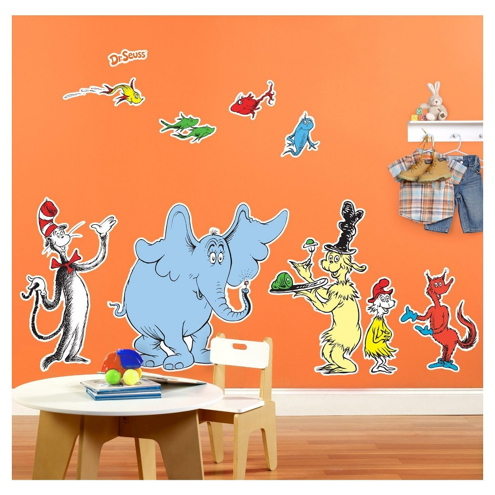 Image of Dr. Seuss Favorites - Giant Wall Decal