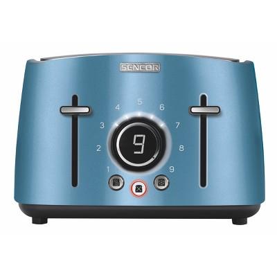 Sencor Metallic 4 Slice Toaster - Blue