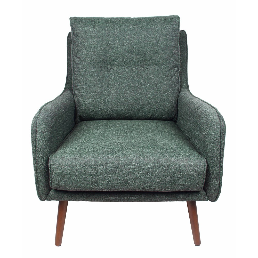 Harper Accent Chair Teal (Blue) - Homepop